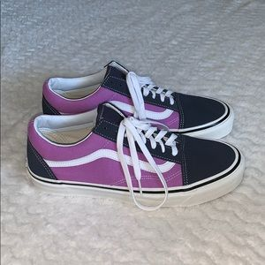 23ca7de0be Purple and Navy Blue DX 36 Anaheim Old Skool Vans